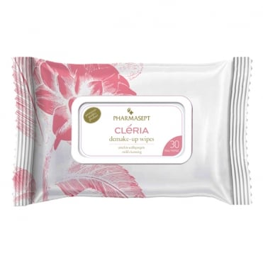 Cleria Demake-up Wipes 30pcs