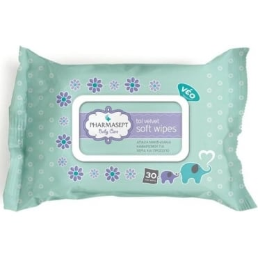 Tol Velvet Baby Soft Wipes 30pcs