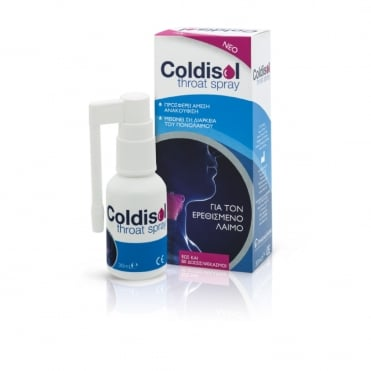 Coldisol Throat Spray 30ml