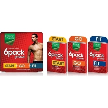 6 Pack Extreme ( 6Pack Start+6Pack Go+6Pack Fit ) 90caps