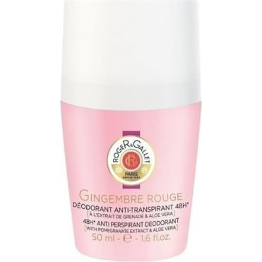 Gingembre Rouge Deodorant Roll-On 48h 50ml