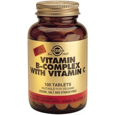 B-complex with Vitamin C 100tabs
