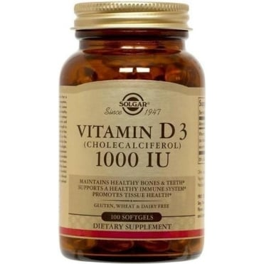 D-3 1000 IU 100 softgels