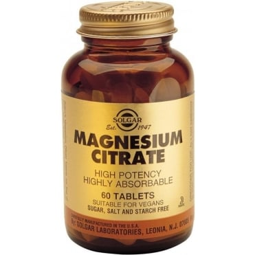 Magnesium Citrate 200mg 60tbs