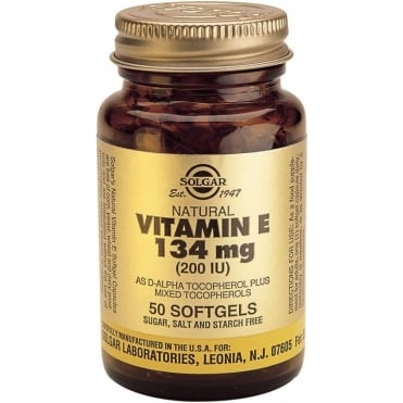 Vitamin E 200IU 50 softgels
