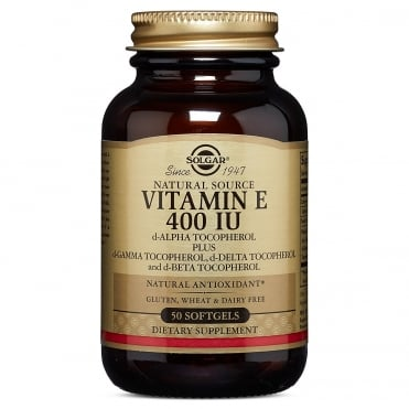 Vitamin E 400IU 50 softgels