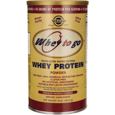 Whey to Go Protein 454gr