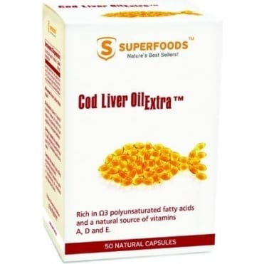 Cod Liver Oil Extra 400mg 50caps
