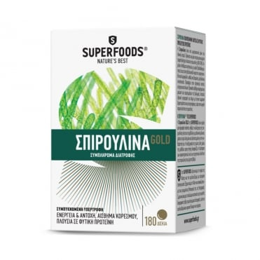 Spirulina Gold 300mg 180tbs