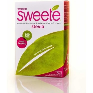 Sweete Weider 100 sticks 75gr
