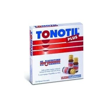 Tonotil Plus Ampoules 10x10ml