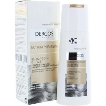 Dercos Nourishing Reparative Cream Shampoo 200ml