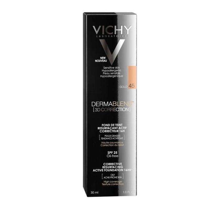 Vichy Dermablend Make Up 3d Correction Spf25 30ml Women From Pharmeden Uk
