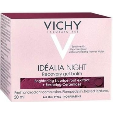 Idealia Night Recovery Gel-Balm 50ml