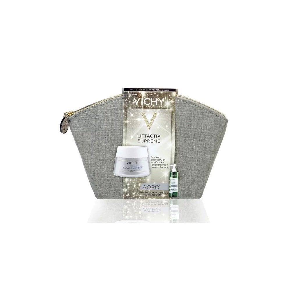 7ef120220a6 Necessaire Liftactiv Supreme Dry Skin 50ml & FREE Dercos Nutrients  Detox Shampoo 100ml