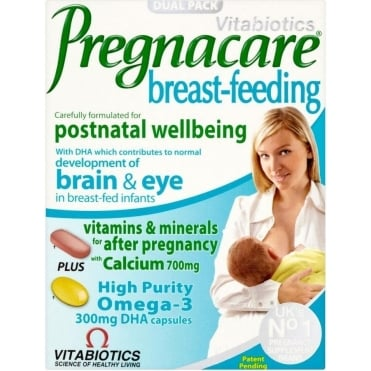 Pregnacare Breast Feeding 56tbs/28caps