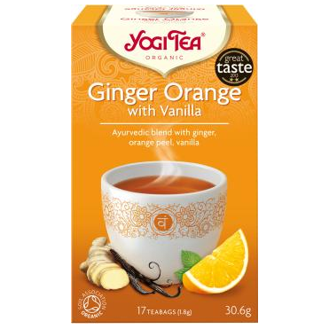 Ginger Orange with Vanilla 17pcs